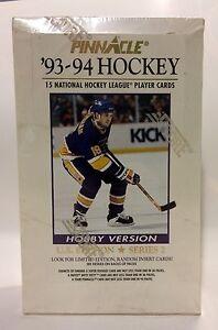 1993-Pinnacle-series-2-NHL-Hockey-Card-Box-36-packs-Factory-Sealed