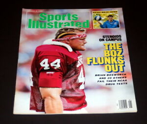 SPORTS-ILLUSTRATED-JANUARY-5-TH-1987-BRIAN-BOSWORTH