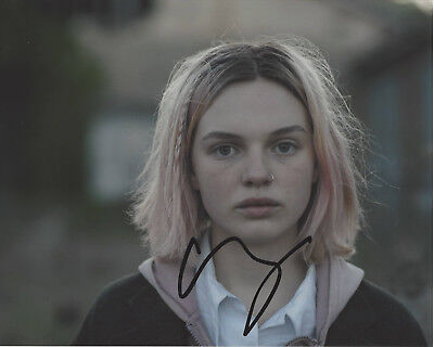 Obedient Actress Odessa Young Signed Assassination Nation 8x10 Movie Photo B W/coa Special Summer Sale Movies