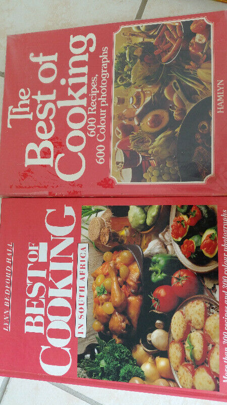 3 Recipe Books - Great to get inspiration from! (Bargain!)