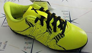 Detalles de Scarpe Adidas Calcetto Jr X 15.4 TF J Bambino Bimbo B32950 Giallo Fluo