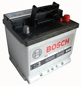 Bosch-batteria-per-auto-S3002-45-Ah-dx-pronta-all-039-uso-spunto-400-A