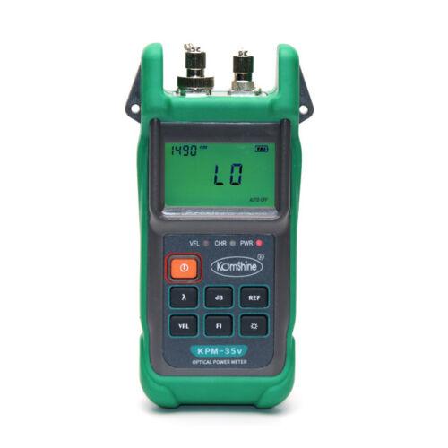 Komshine KPM-35V Optical Power Meter comes w// Visual Light SourceFunction 10mw