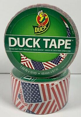 2 New Rolls of Duck Tape Brand Phineas Ferb Perry Duct Tape 1.88 inch x 10 yards