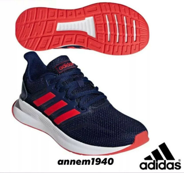 adidas Runfalcon K Blue Orange F36543 Running Shoes Men's Size 6
