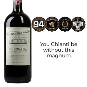Monte Bernardi Retromarcia Chianti Classico 2018 - Magnum