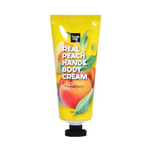 FARM-STAY-Real-Peach-Hand-amp-Body-Cream-100ml