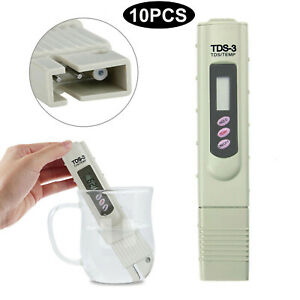 TDS-3 Portable Meter Temp PPM Digital LCD Tester Tap Water Quality Filter Purity