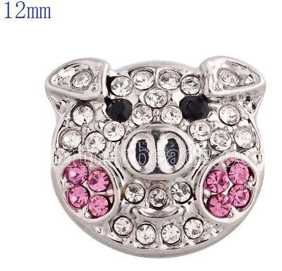 Snap Jewelry 12mm Candy Apple Gem Mini Snap