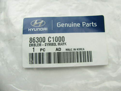 New OEM Rear Trunk *H* Emblem Name Plate For 2015 Sonata 86300C1000