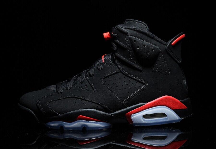 cfdacd4e18 2019 Nike Air Jordan 6 VI Retro Black Infrared Size 9. 384664-060 ...