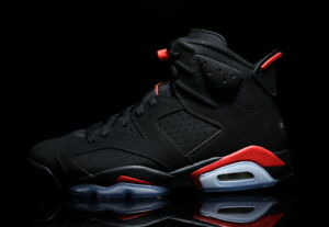 new product fe5b6 2aa24 Image is loading 2019-Nike-Air-Jordan-6-VI-Retro-Black-