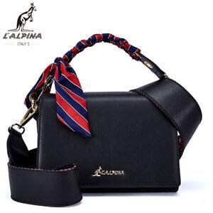 3a3533f1f4f18 Das Bild wird geladen  L-034-Alpina-Luxus-Handtasche-Crossbody-Schulter-Umhaengetasche-