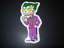 "JOKER Batman suicide MUERTO Art Sticker Print 4"" DIA DE LOS Muertos JOSE PULIDO"
