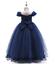 Kids-Flower-Girl-Princess-Dress-for-Girls-Party-Wedding-Bridesmaid-Gown-ZG8 thumbnail 10
