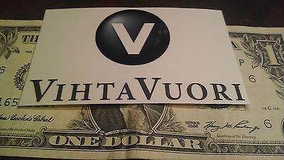 Vihta Vuori Decal/Sticker OEM/Original Vinyl Powder Lapua Reloading Gun Rifle
