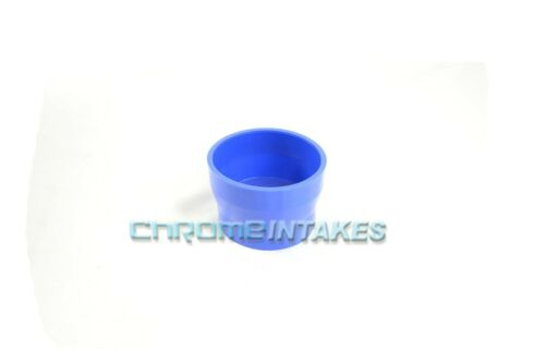 "BLUE 3.5/""-4/"" AIR INTAKE//PIPING RUBBER REDUCER COUPLER FOR GMC"