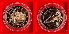 2 Euro 2010 Deutschland - Bremen - Münzkapsel - vollvergoldet  9g 25mm