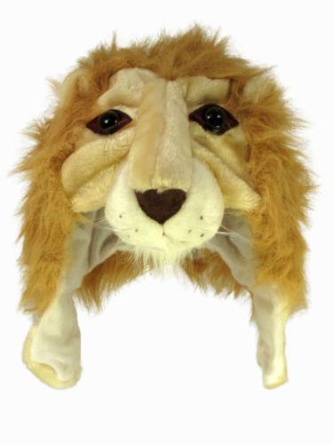BAMBINI/ADULTI PELO ANIMAL HATS. 8 design, 2 misure