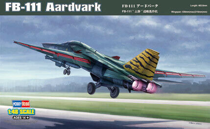 Hobby Boss 1//48 FB-111 Aardvark # 80351