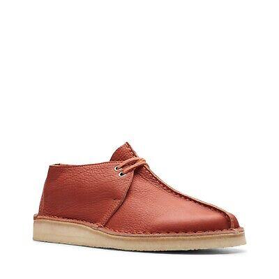 Clarks Originals Desert Trek Men/'s Orange Leather 26145271