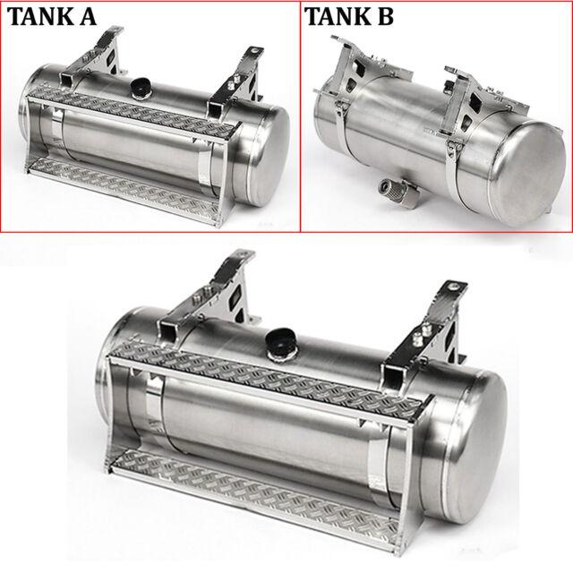 LESU Metal Hydraulic Tank A//B For 1//14 TAMIYA KING Globe Liner RC Truck