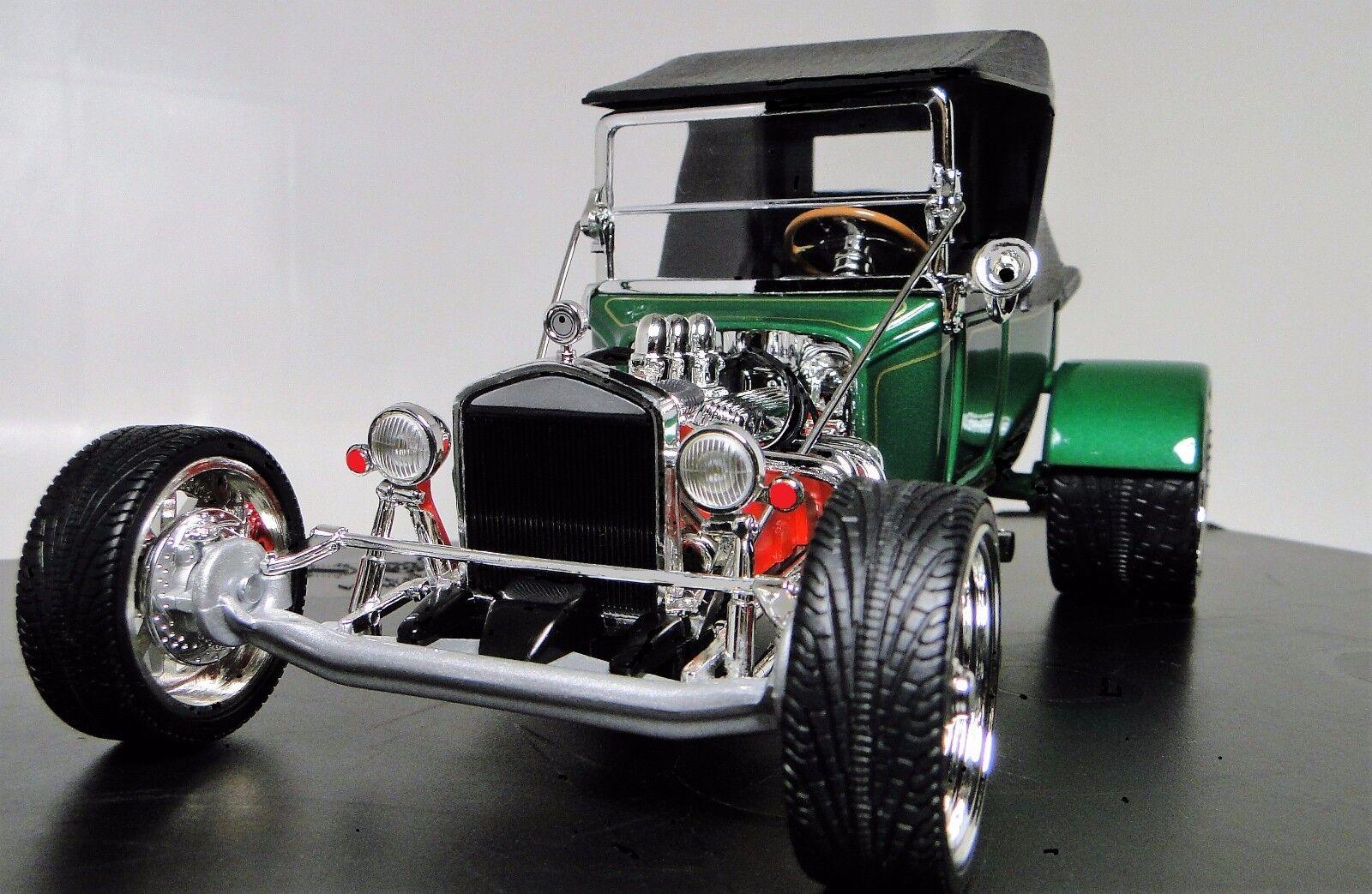 1 A Sport T Race Car 18 1920s Vintage 12 Antique 24 Carousel verde Metal Model