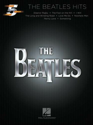 The Beatles Hits Five Finger Piano Artist SongBook NEW 000128687