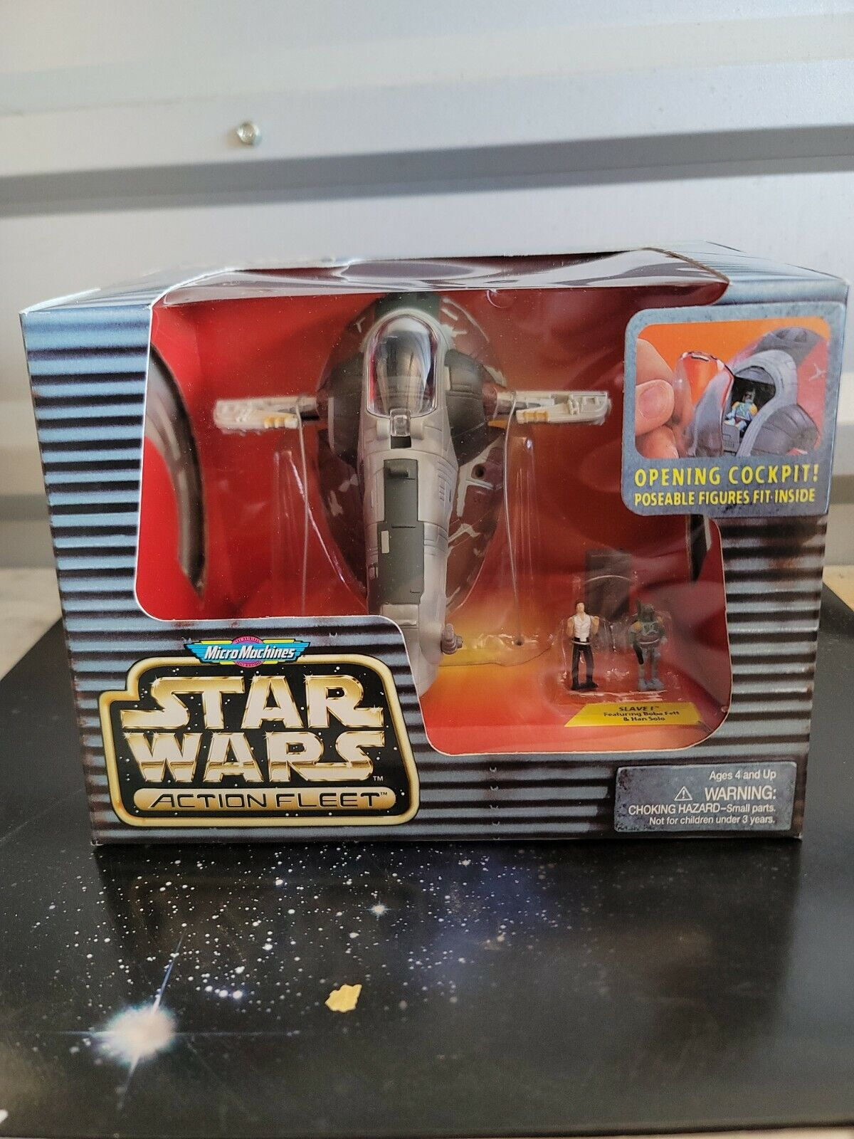 Micro Machines Star Wars Action Fleet Boba Fett V2
