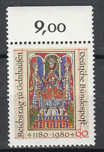 BRD 1980 Mi. Nr. 1045 mit Oberrand Postfrisch TOP!!! (27596) - Beckum, Deutschland - BRD 1980 Mi. Nr. 1045 mit Oberrand Postfrisch TOP!!! (27596) - Beckum, Deutschland