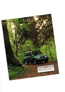 1996 Geo Tracker Brochure / Catalogue Avec Nuancier : Lsi , Convertible Nouveau Design (En);