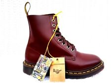 Dr Martens Unisex 1460 Pascal Cherry Red Virginia Leather Combat Boot US M  7 W8 24a25caf0553