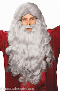 ACCESSORY COSTUME WIG WIZARD SET BEARD 59285 ADULT BIBLICAL MOSES amp; TIMES FORUM zWnwqSxvp