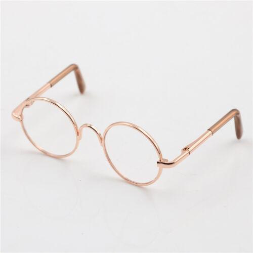Round Frame Clear Lens Eyewear Glasses for 12/'/' Blythe Dolls Accessory SL