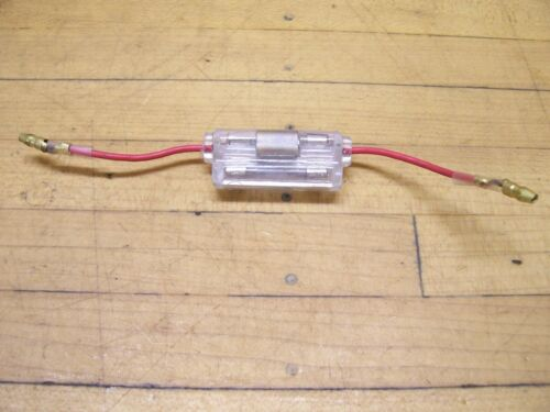 NOS Vintage Bridgestone Motorcycle Electrical Wiring Main Fuse Assembly 90 100