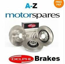 FOR CITROEN C4 GRAND PICASSO 2.0 2006-> FRONT BRAKE DISCS AND DISC PADS SET