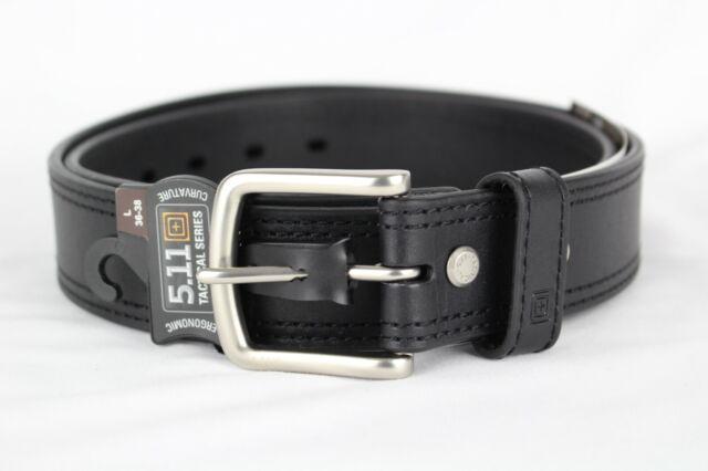 NEW Snap On Tools Men/'s Genuine Leather No-Scratch Black Work Belt Hook /& Loop