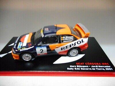 SEAT CORDOBA WRC 24H CHAMONIX 2003 ALTAYA IXO 1:43