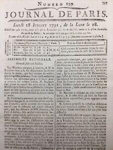 Fusillade du Champs de Mars 1791 Alsace Police Municipale Alsace Révolution