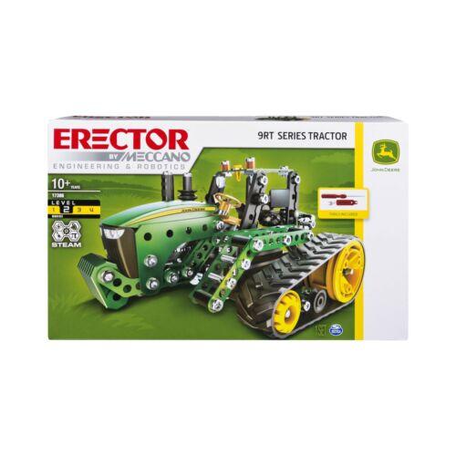 John Deere 9RT Series Tractor Building Set Stem Engineering... Meccano Erector