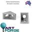 10-x-2020-Cast-Aluminium-V-Slot-Extrusion-L-Shape-Corner-Joint-Angle-Bracket thumbnail 1