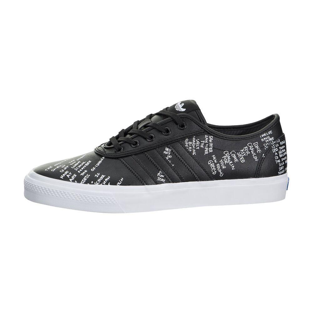 Adidas Adi-Ease classés Core Noir Gonz Baskets Chaussures UK Taille 10 NEUF-
