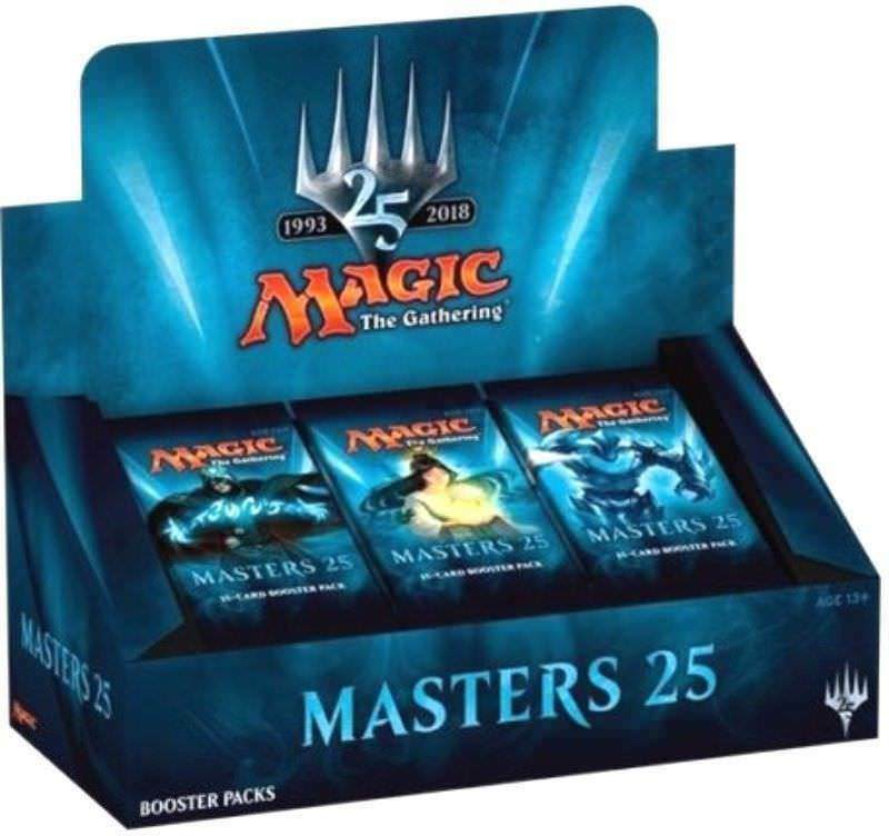 Masters 25 (MTG) Magic the Gathering Factory Sealed 2 Box Booster Case - LIVE
