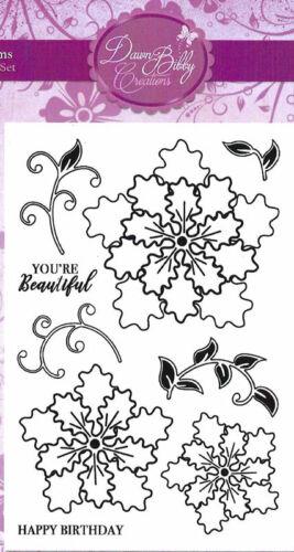 Janita Blooms Clear Stamp Set Dawn Bibby DBS21