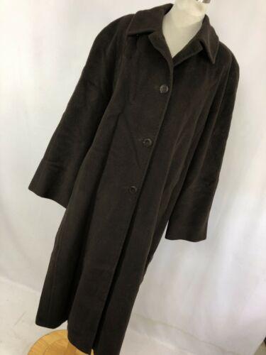 Cinzia Rocca 12 Brown Trench Coat Jacket Long Butt