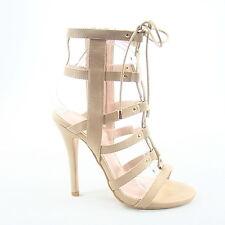 b01c0905aa2f item 5 Women s Strappy Cutout Lace Up Open Toe Gladiator High Heel Sandal  Size 5 - 10 -Women s Strappy Cutout Lace Up Open Toe Gladiator High Heel  Sandal ...