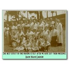 """*Postcard-QUOTE-""""The Best Effect of Fine Persons is Felt After...."""" (B306)"""