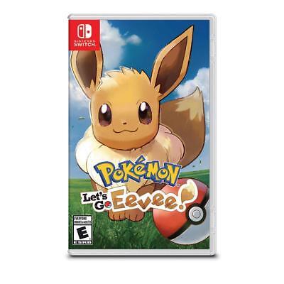 Pokemon: Lets Go, Eevee For Nintendo Switch
