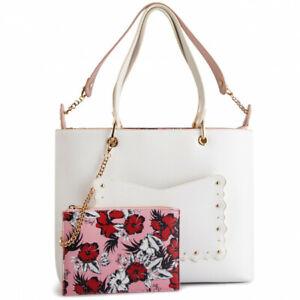 Eclettica N19225 White Busta Bianco Set Nero Liu Jo Shopping Tracolla Borsa Bag wqnxUF6IR