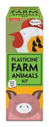 Plasticine Farm Animals Kit Makes 6 Animals Lagoon